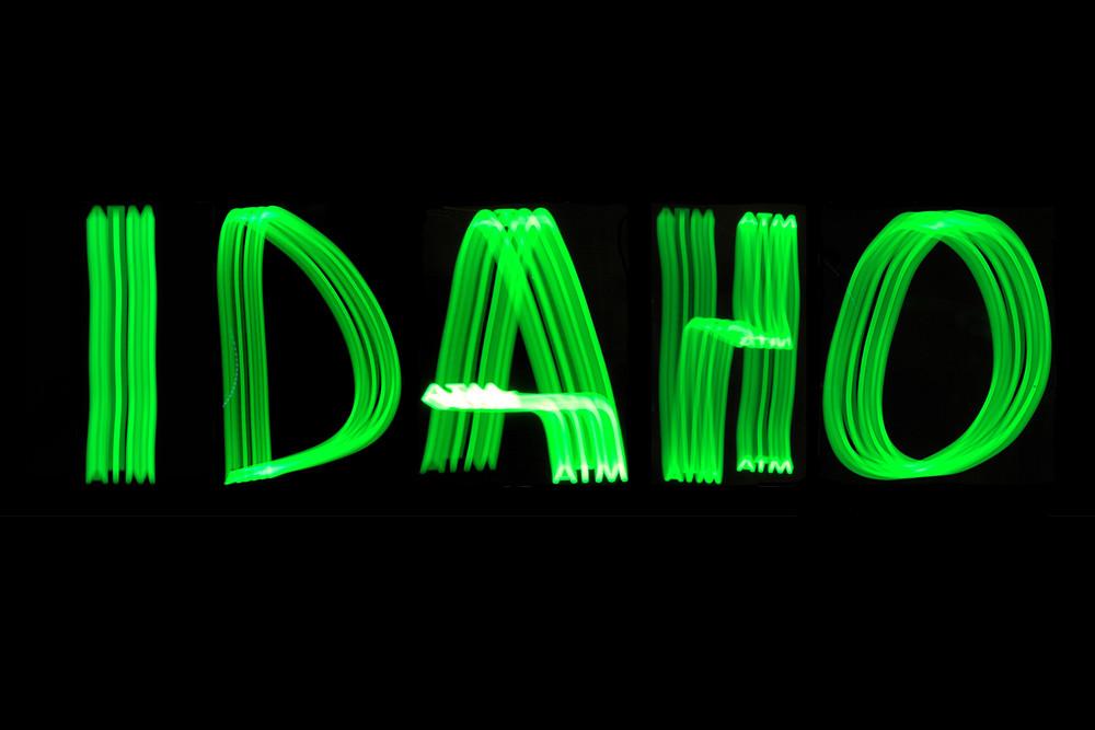 Idaho Light Painting Photography Art | David Louis Klein