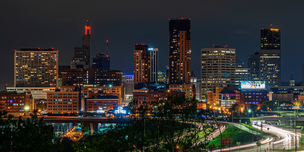 Saint Paul On A Summer Night Photography Art | William Drew Photography