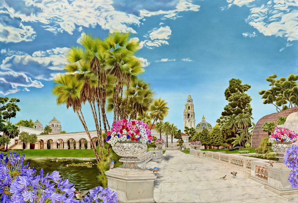 Balboa Park ~ Centennial Tribute   Prints Art | Mercedes Fine Art