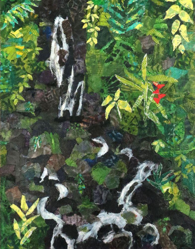 'aihualama Falls Art   Poppyfish Studio