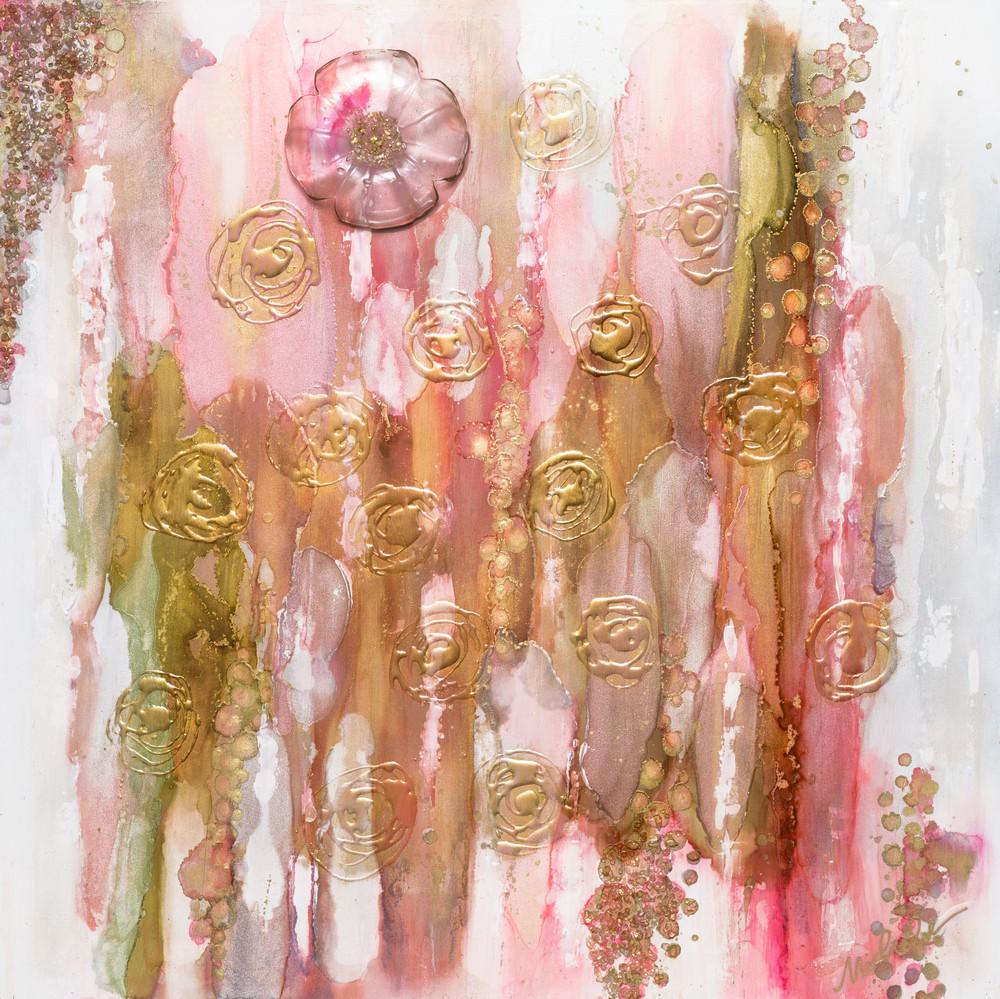 Coral Blush Print Art   Michele Harmon Art