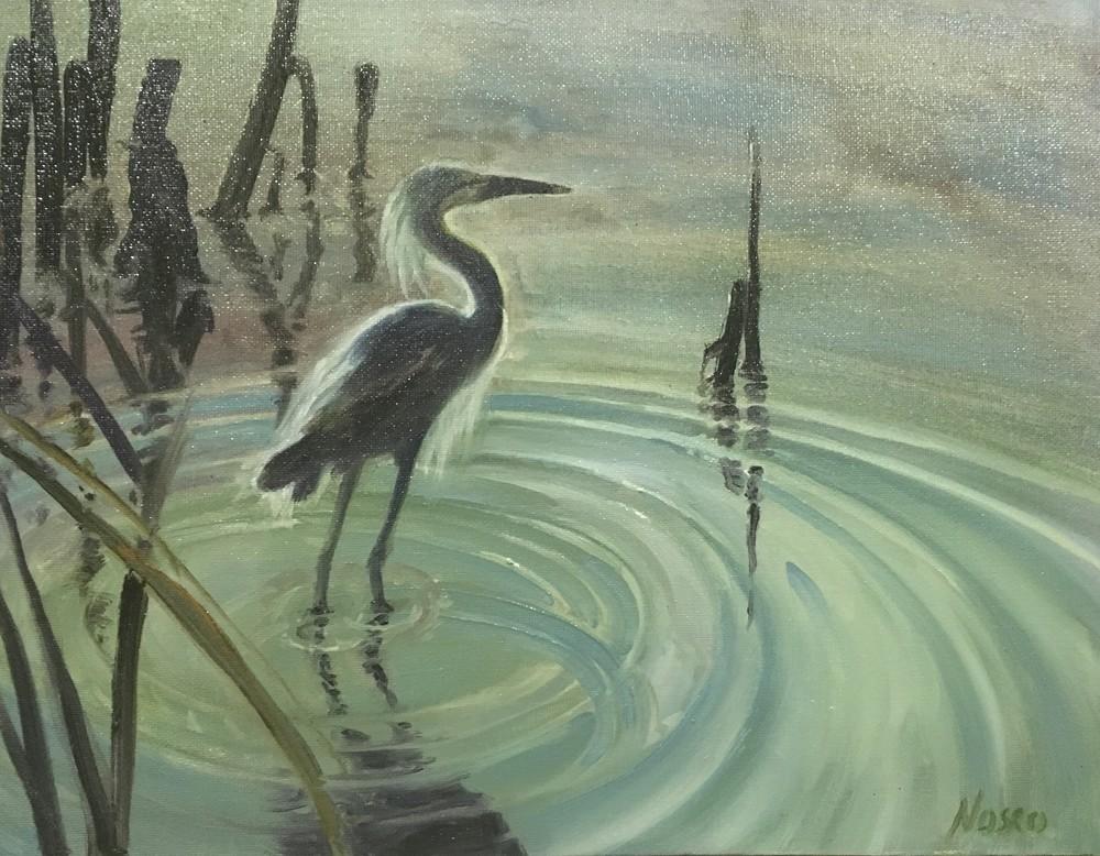 Standing In The Wetlands Art   Nosco Fine Art