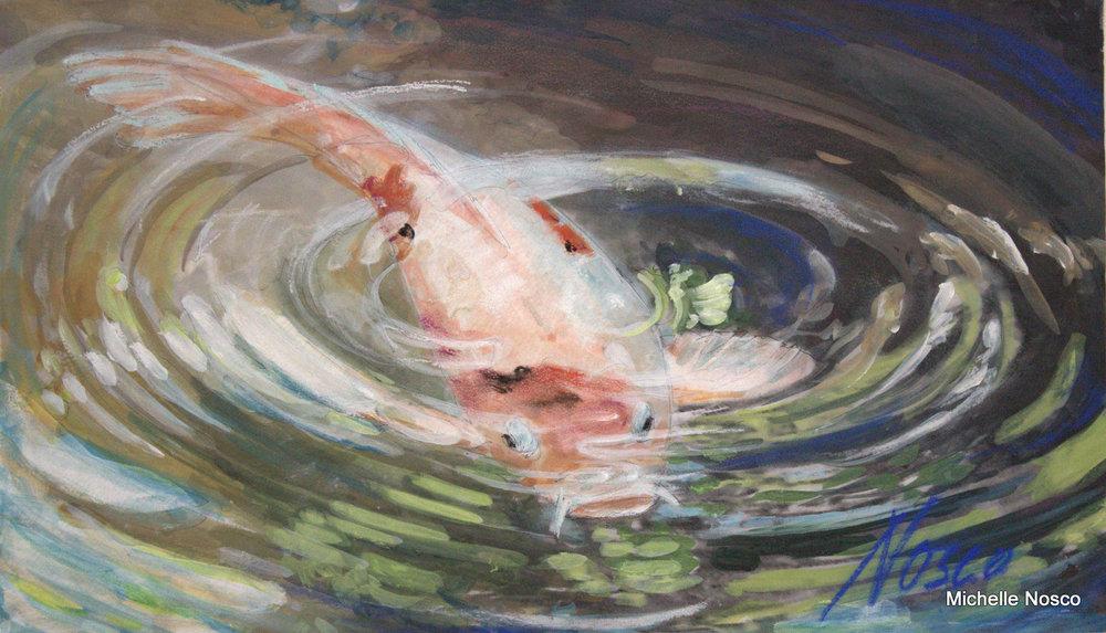 Koi Wells Art | Nosco Fine Art