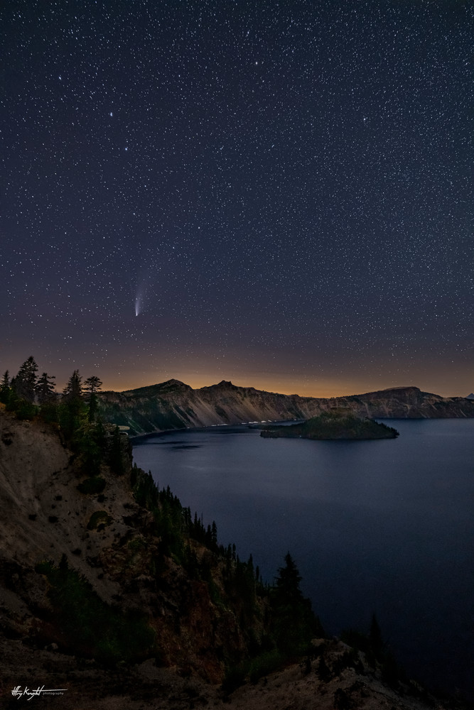 Comet And Crater Art | Jeffrey Knight Photography