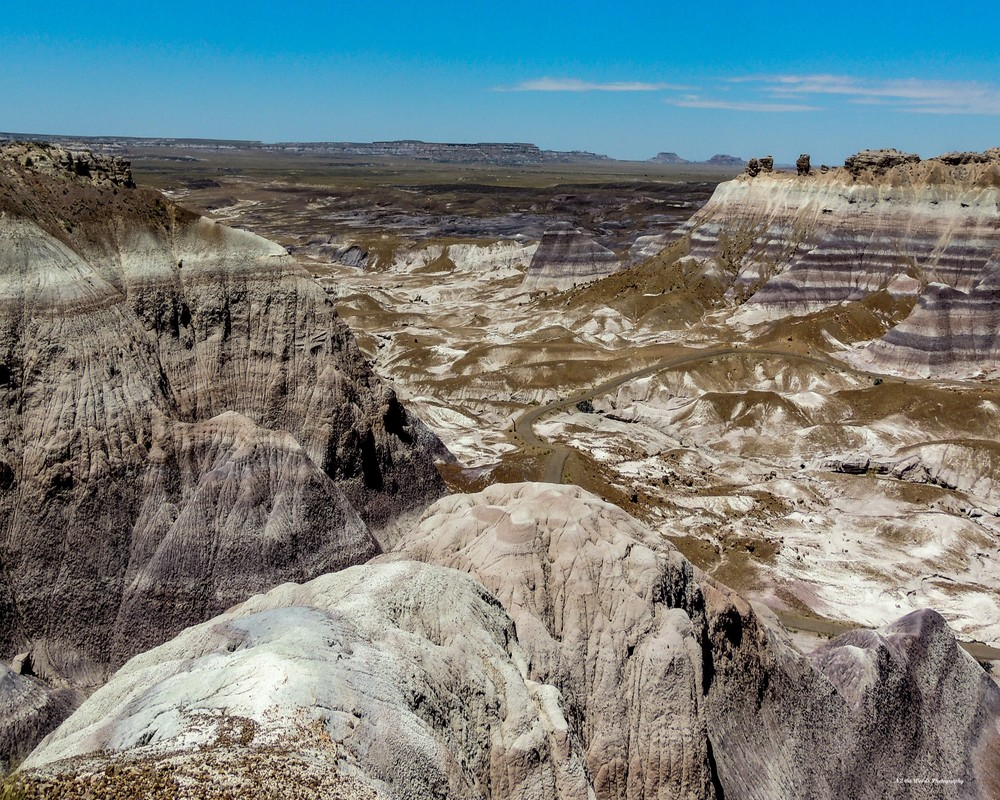 Painted Desert Overlook Photography Art | N2 the Woods Photography