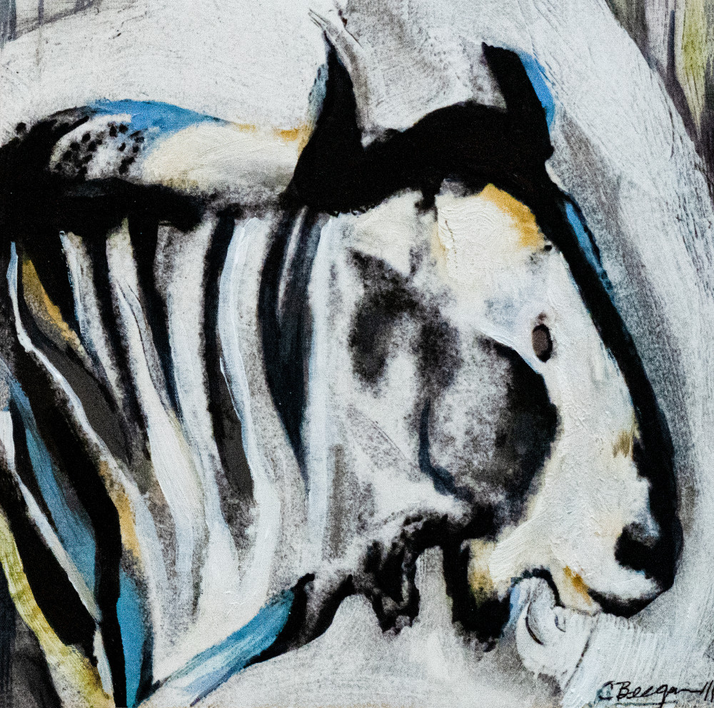 Study for Wildebeest, No. 1, 2011 by artist Carolyn A. Beegan