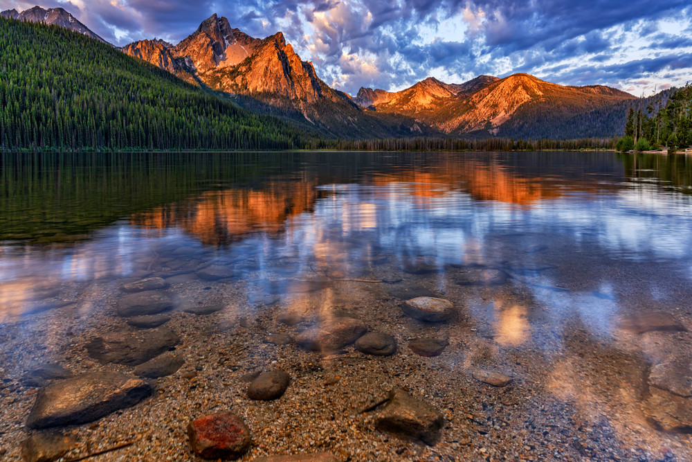 Morning at Stanley Lake | Shop Photography by Rick Berk