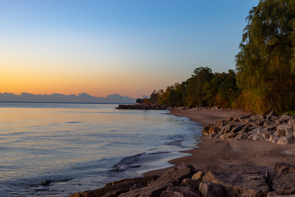 Sunrise Over Lake Ontario Photography Art | Elizabeth Stanton Photography