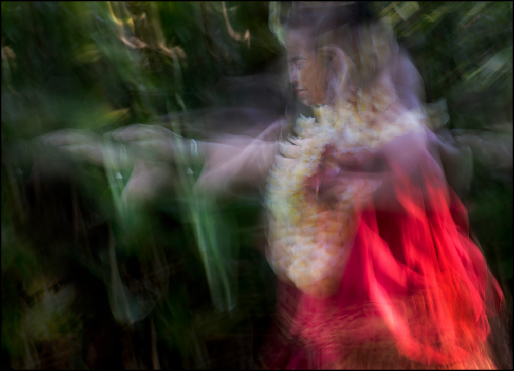 Hula Spirit Energy Photography Art | Ed Sancious - Stillness In Change