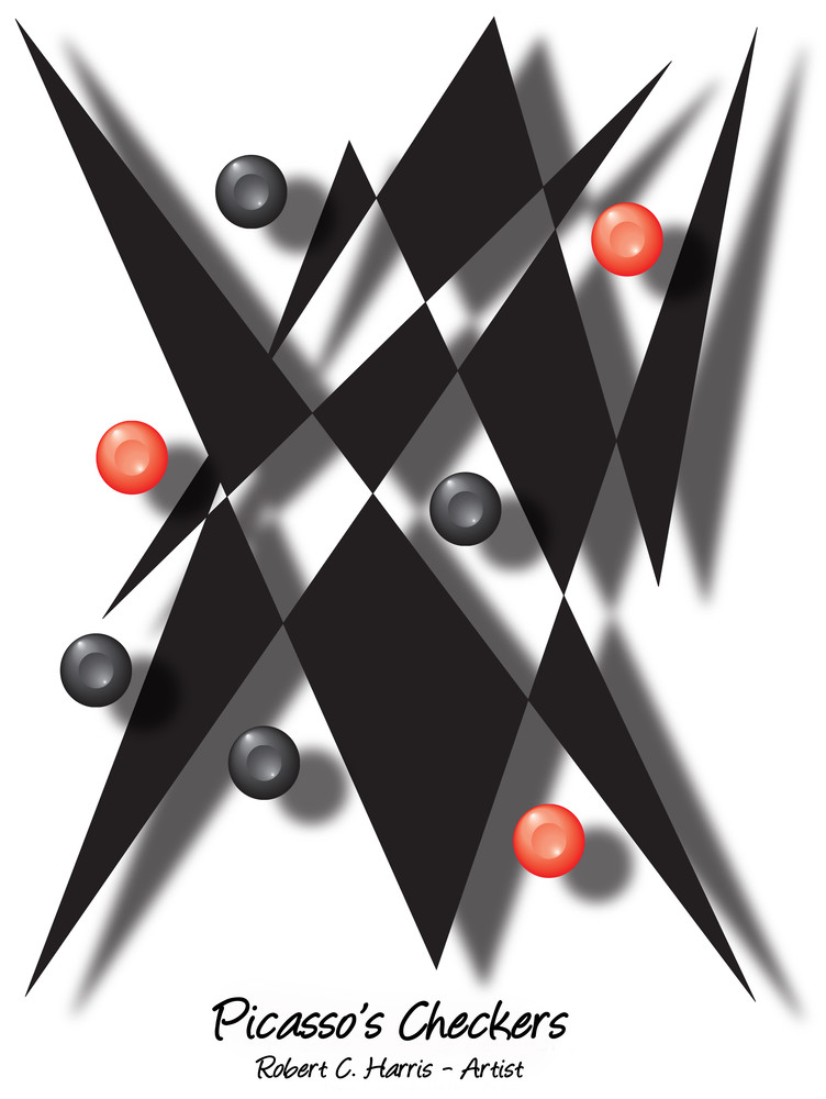 Picasso's Checkers