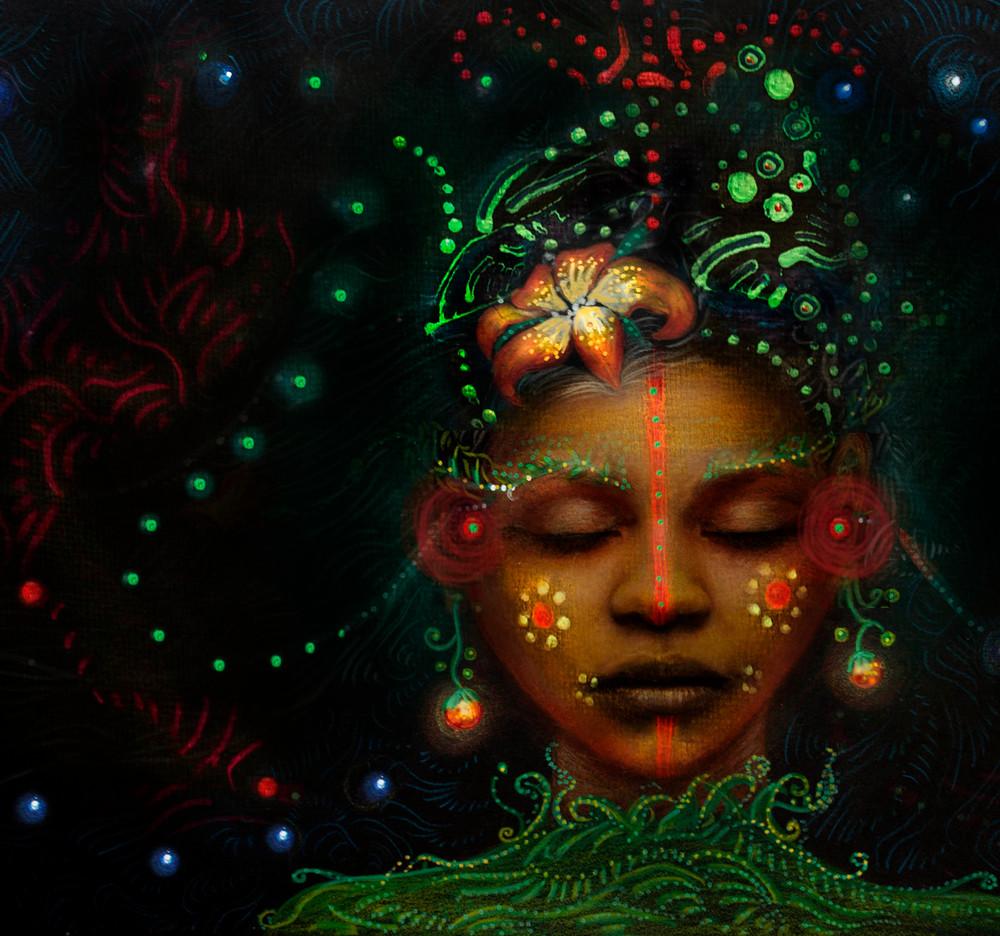 The Fountain Of Inspiration  Art | Angelica Hoyos Studio