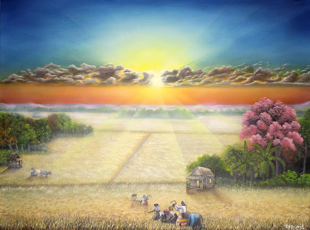 The Harvest Art | errymilart