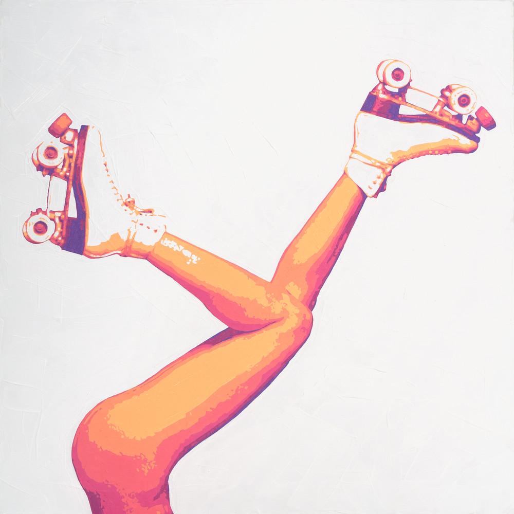 Disco Summer Print Art | Todd Monk Art