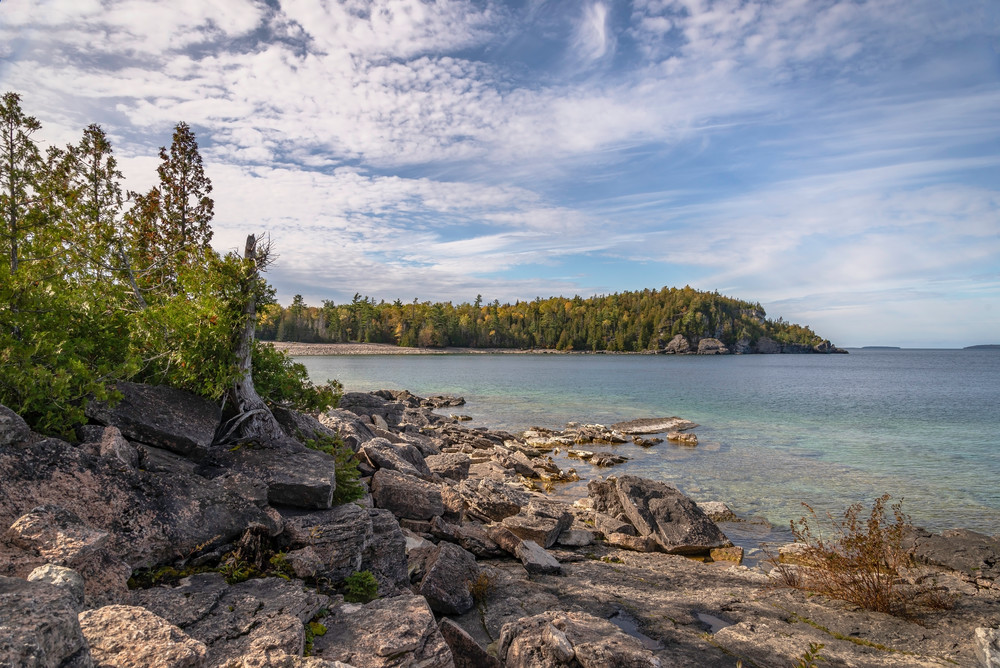Georgian Bay From The Bruce Peninsula Photography Art | Elizabeth Stanton Photography