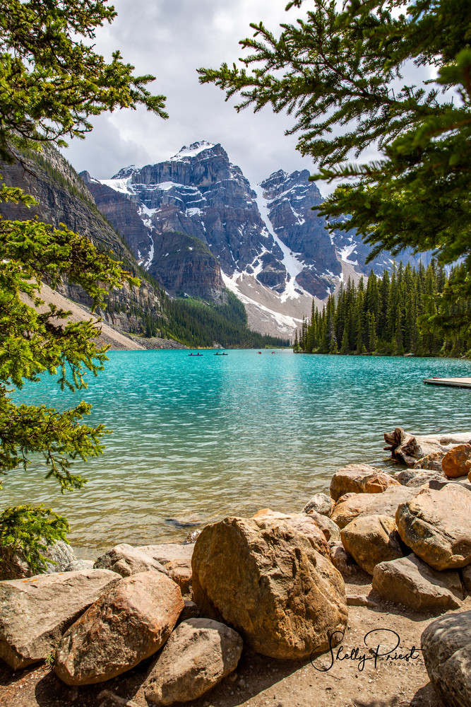 Moraine Lake  Photography Art | Shelly Priest Photography