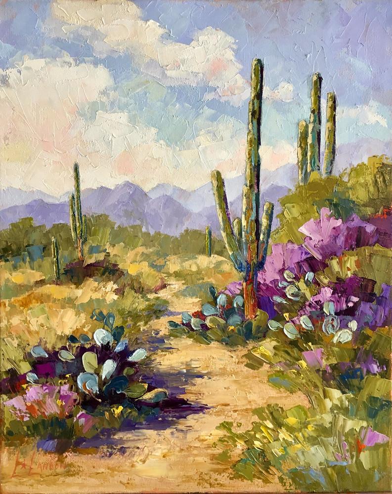 Saguaro Trail Art | Linda Star Landon Fine Art