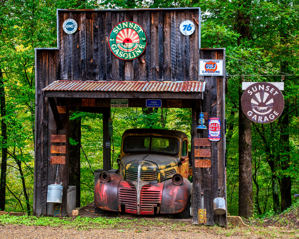 Old Fashioned Service - Antique truck fine-art photography prints