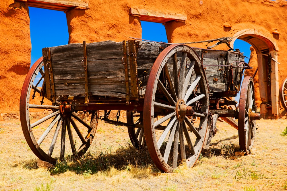 Old West Wagon - A Fine Art Photograph by Marcos R. Quintana