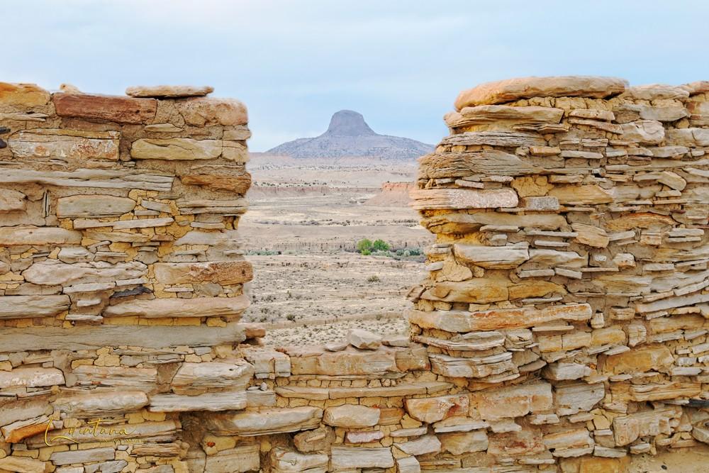 Peek At the Peak - A Fine Art Photograph by Marcos R. Quintana