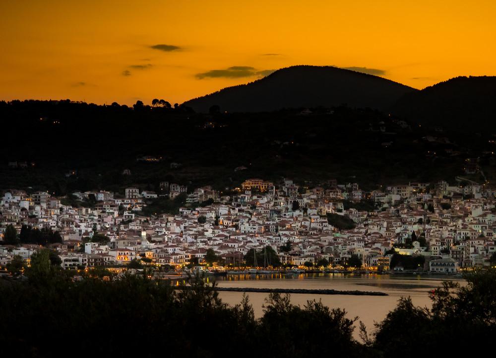 Skopelos Sunset, Greece Photography Art   Ben Asen Photography