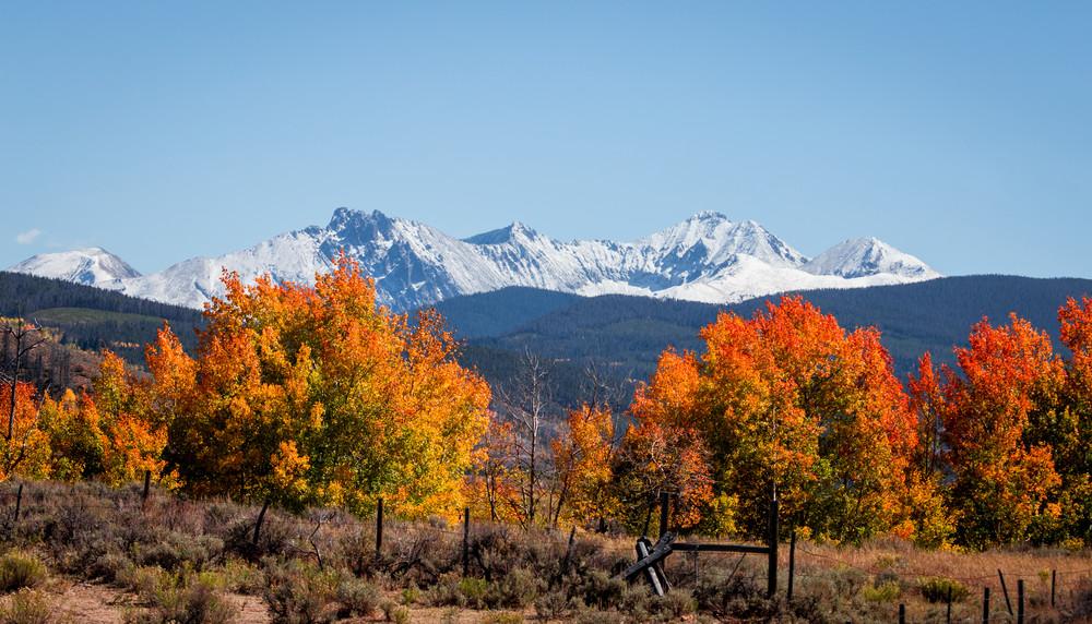 Gould Colorado Fall Colors Autumn Wall Art Home Decor Landscape Photography