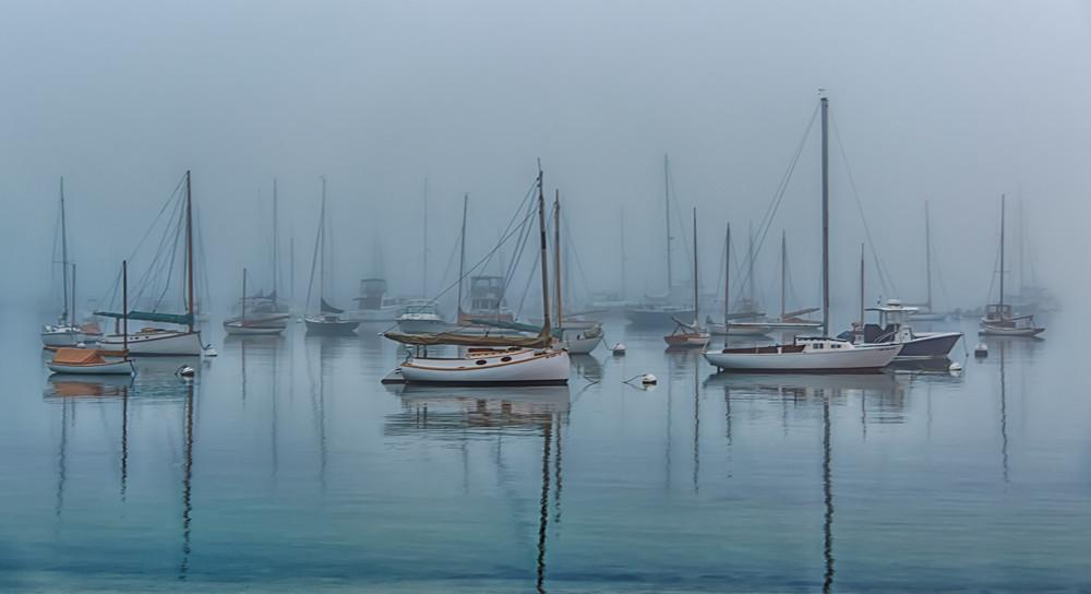 Owen Park Late Summer Fog Art   Michael Blanchard Inspirational Photography - Crossroads Gallery