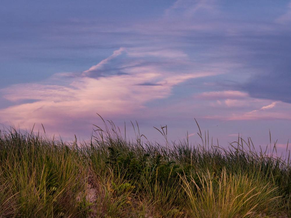 Purple Sky, Truro Beach Photography Art   Ben Asen Photography