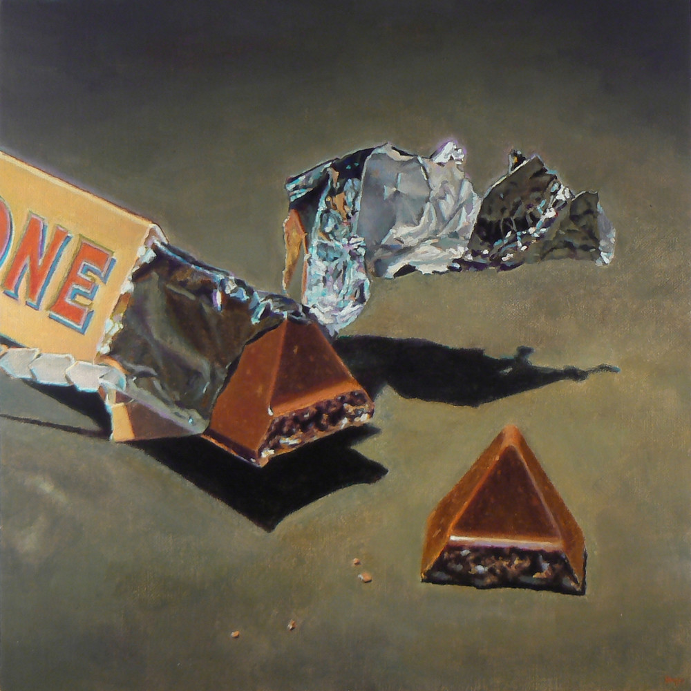 Chocolate And Foil Art | Jeff Hayes Fine Arts