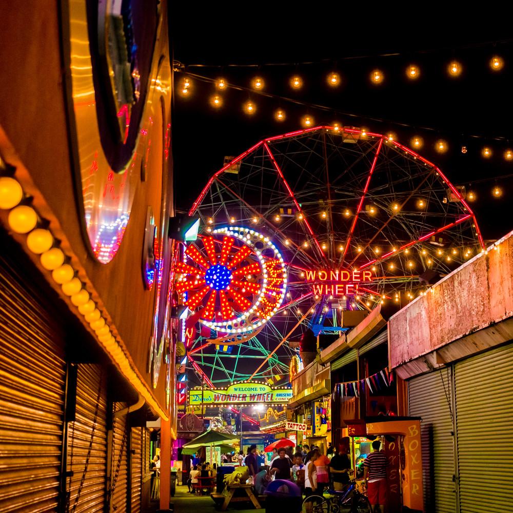 Wonder Wheel, Coney Island Photography Art | Ben Asen Photography