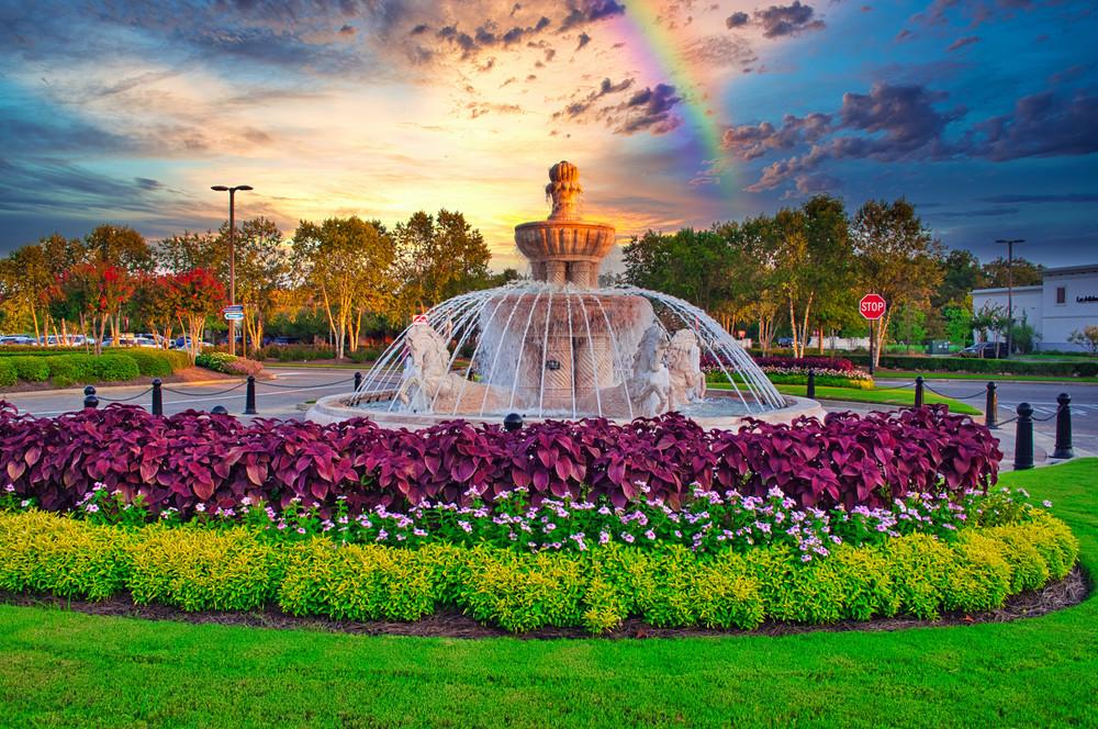 Rainbow over the Renaissance at Colony Park