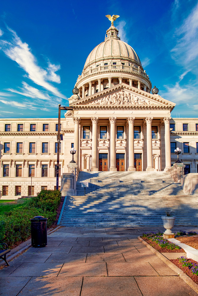 Jackson, Mississippi capitol building