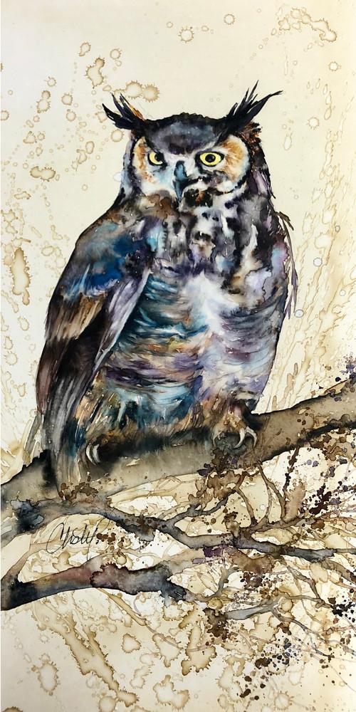 Great Horned Owl Art | Christy! Studios