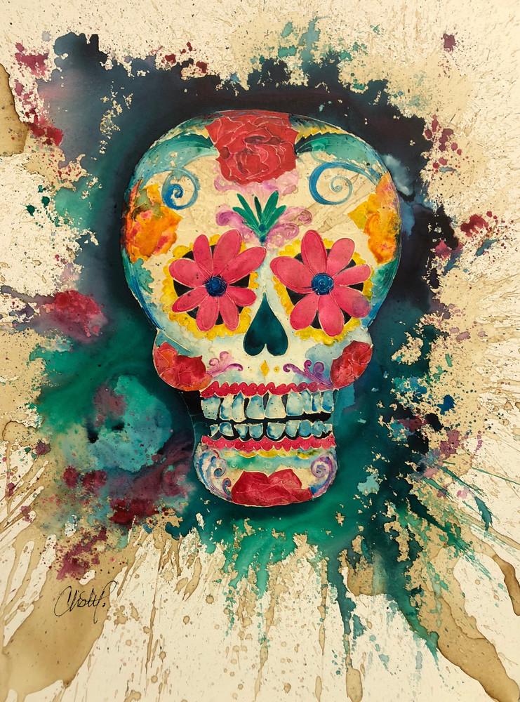 Sugar Skull Art | Christy! Studios