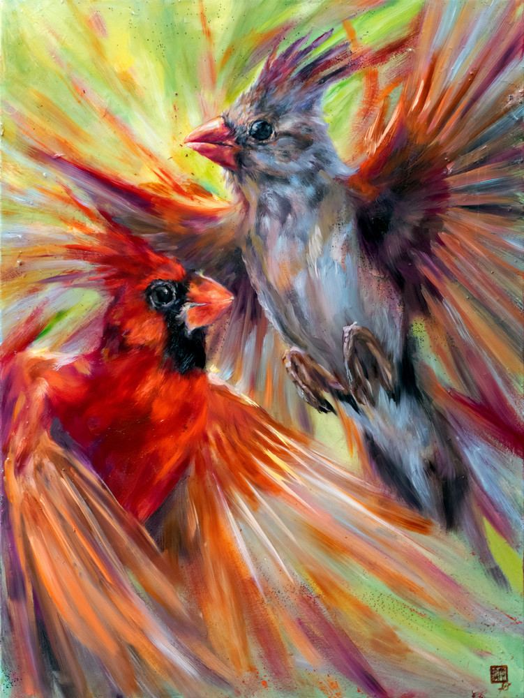 Birds Of One Feather Art | Ans Taylor Art