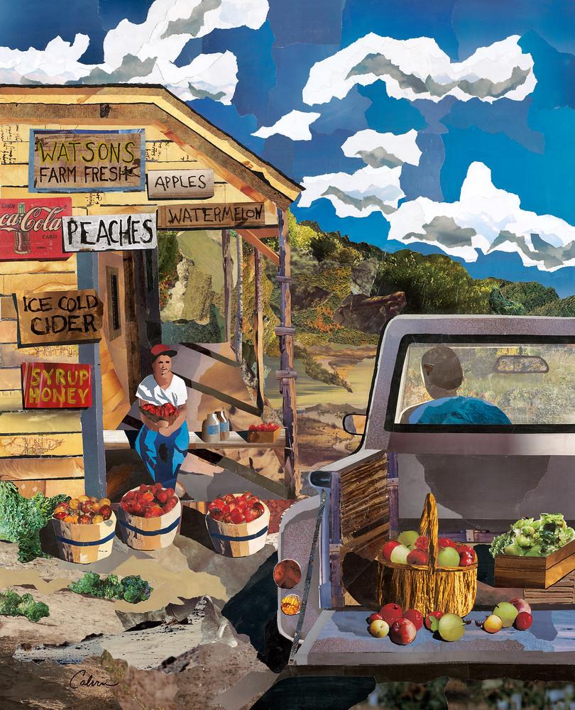 Roadside Stand, 6/22/17, 11:42 AM,  8C, 9000x12000 (0+0), 150%, Copywork,  1/20 s, R118.9, G94.9, B116.7 40x32 Original, WT EYE ONE