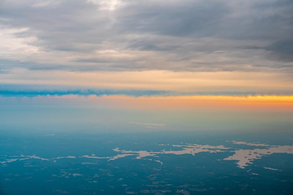 Lake Murray Sunrise Photography Art | Austin Marvel