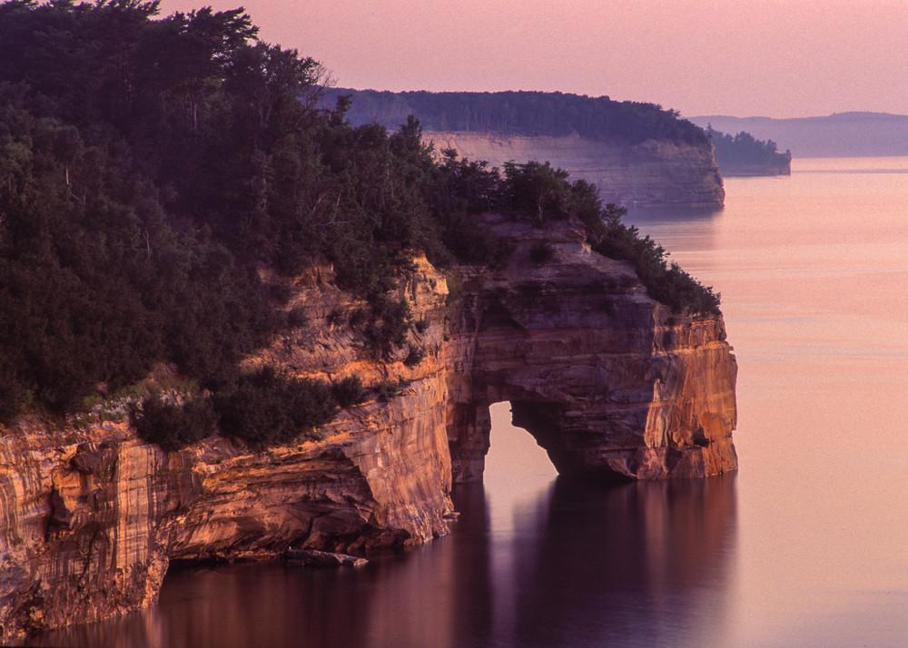 Cliffs & Arch, Pictured Rocks