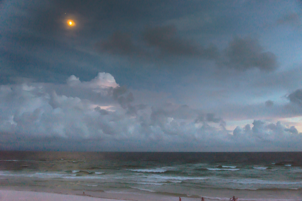 Moonrise Over the Emerald Coast | Susan J Photography