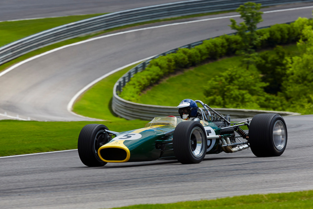 1967 Lotus 49 at Barber