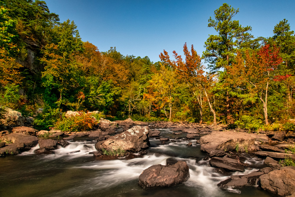 Little River Colors - Alabama nature photography prints