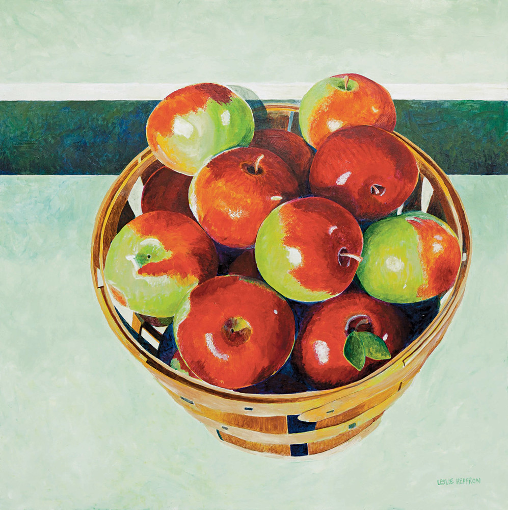 Bushel Of Apples Art | capeanngiclee