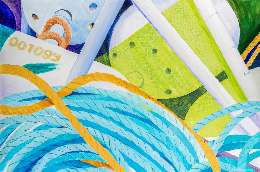 Buoys Line Flag Art | capeanngiclee