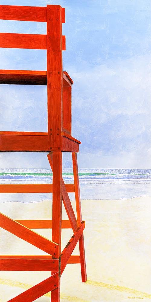 Good Harbor Lifeguard Chair Art | capeanngiclee