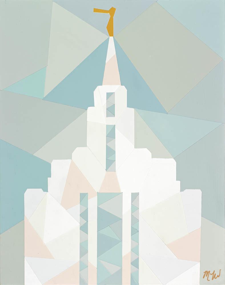 Oquirrh Mountain Temple - Geometric