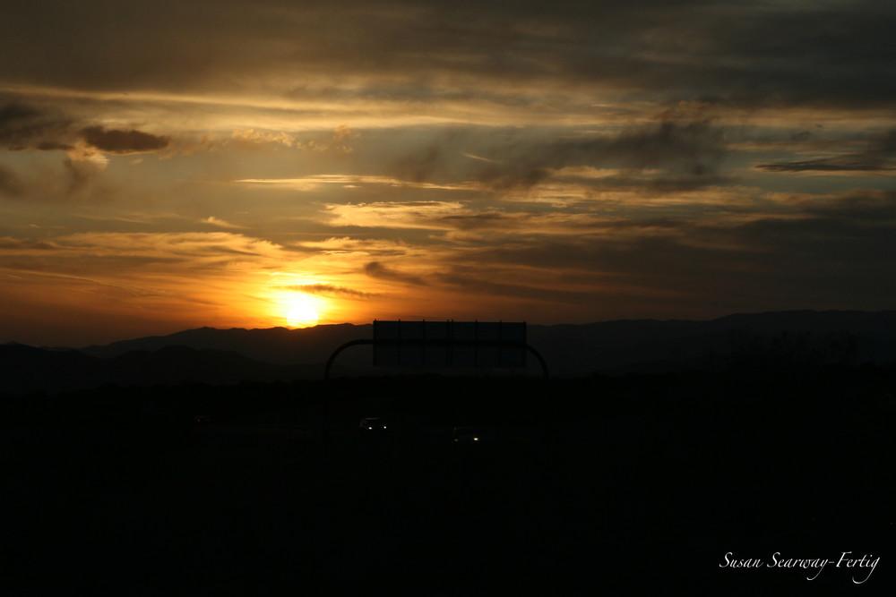 Sunset 1 Art | Susan Searway Art & Design