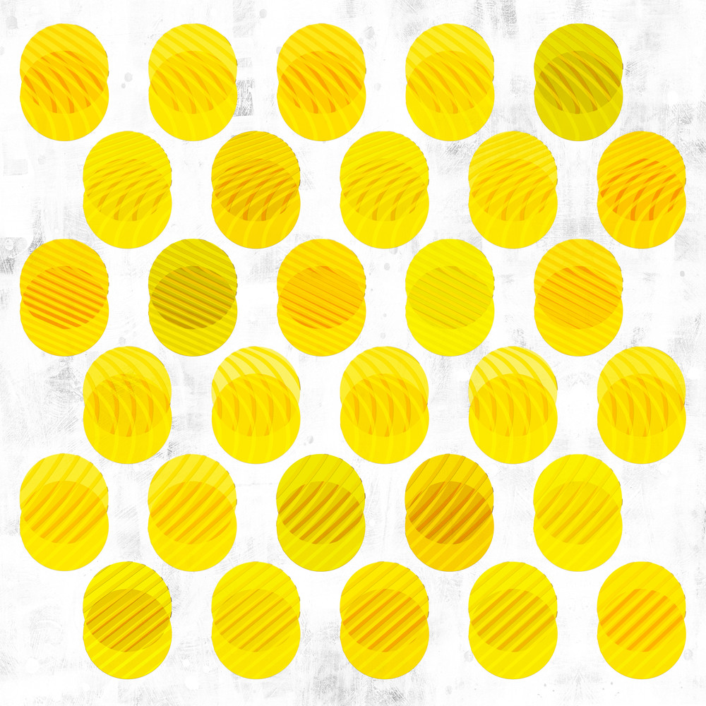 48x48 Yellow Dots Upl Art | Mod City Gallery