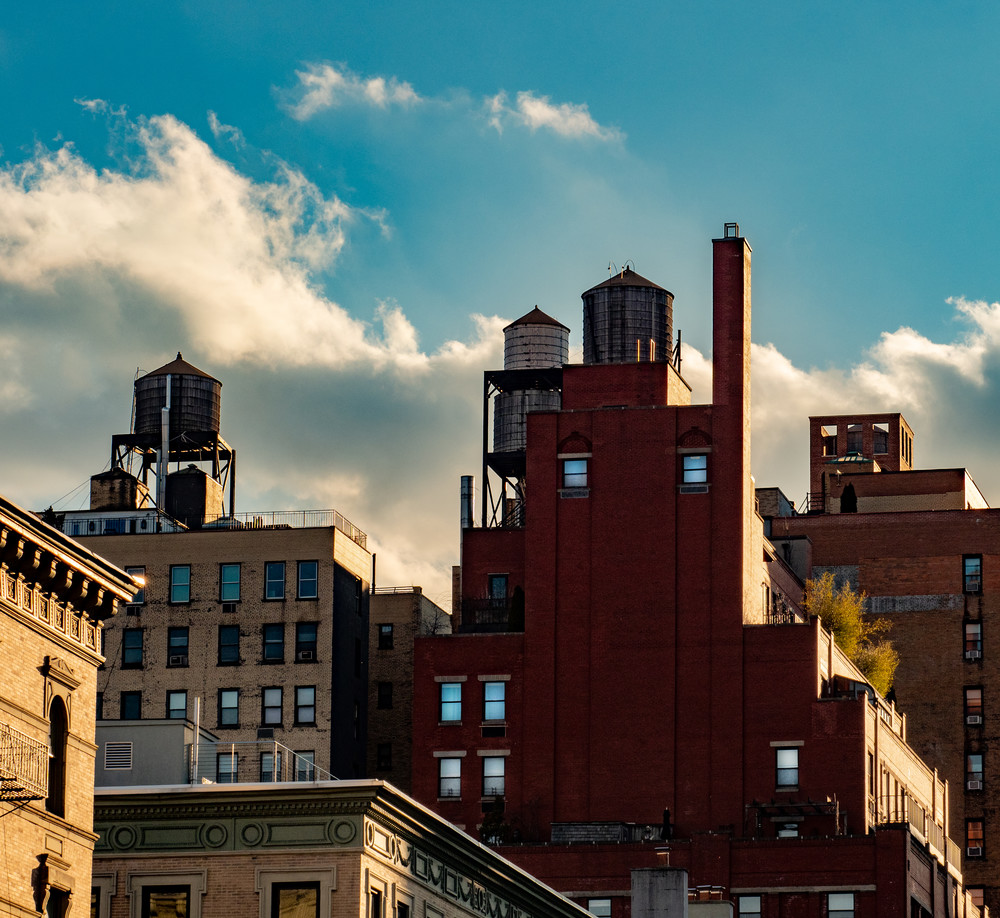 Late Day Upper Westside, Nyc Photography Art | Ben Asen Photography