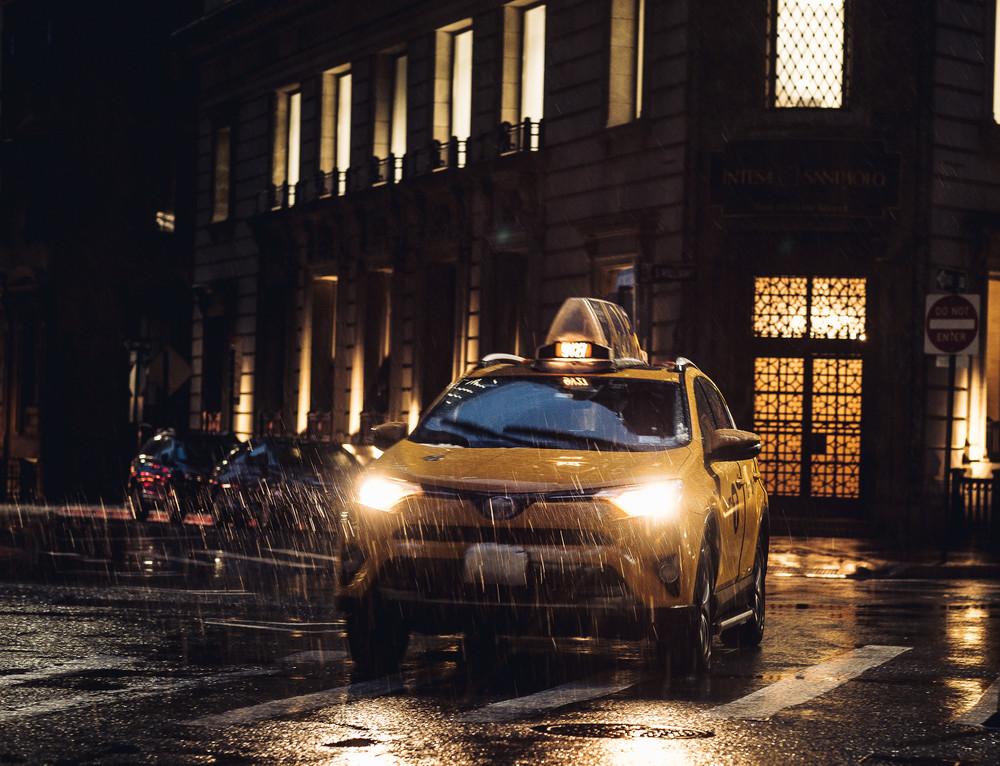 Taxi Driver Photography Art | LenaDi Photography LLC