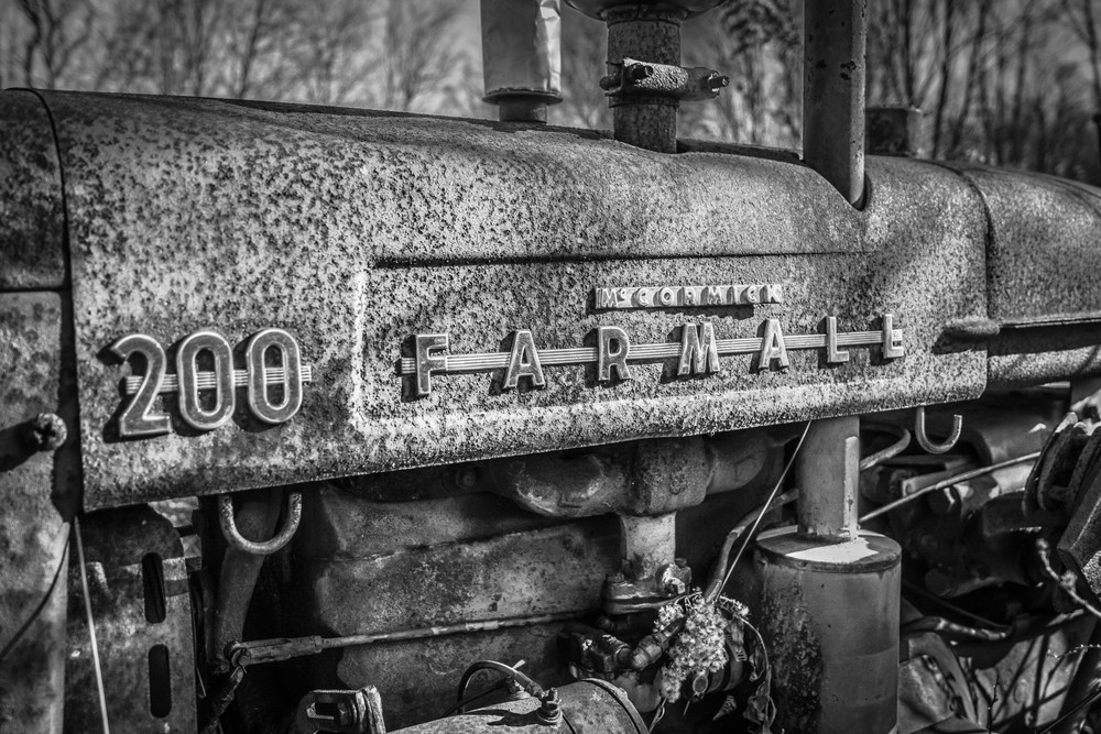 Farmall 200 Photography Art   Scott Krycia Photography