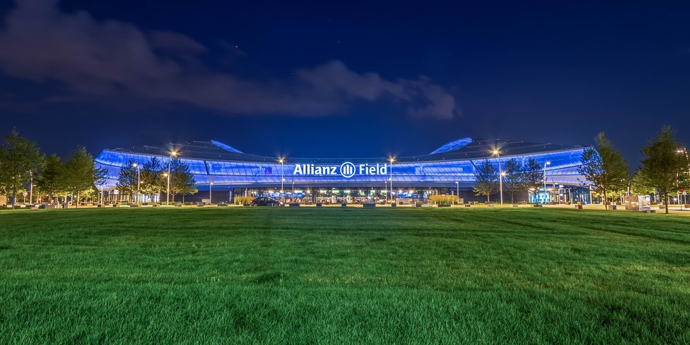 Allianz Field Saint Paul - Soccer Stadium Pictures   William Drew Photography